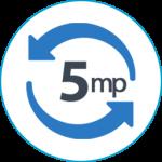 azonnali kör ikon